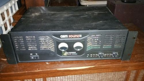Gem sound EXA2955 extreme series power amplifier. For parts or repair.