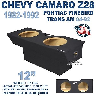 Chevy Camaro Subwoofer box 12