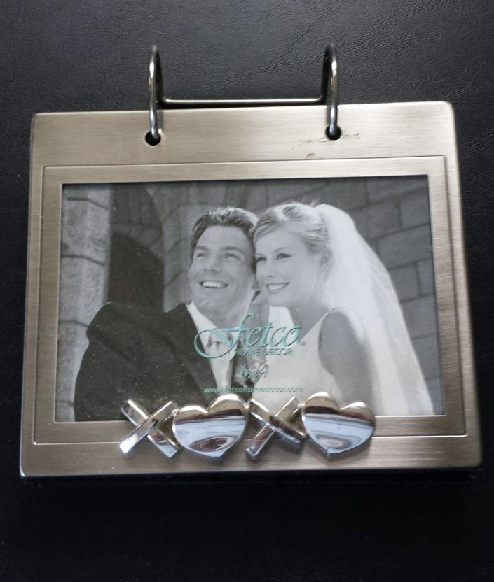 Fetco Wedding Photo Flip Album, 6 X 4