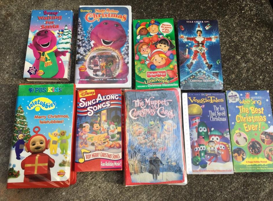 Barney Vhs Lot - CDs & DVDs Classifieds