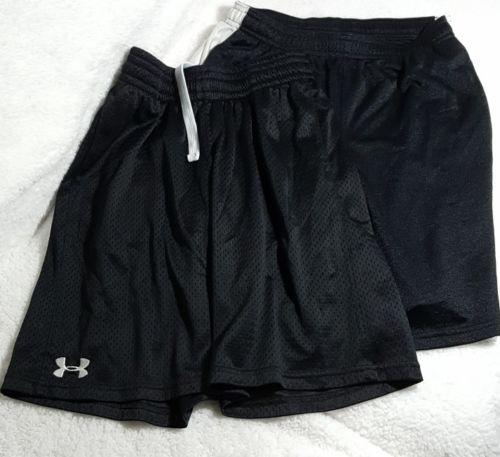 Boys Under Armour Athletic Shorts Lot Size YLG EUC