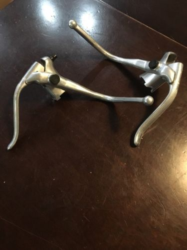 vintage weinmann bicycle brake levers peugeot parts caliper cycling schwinn bike