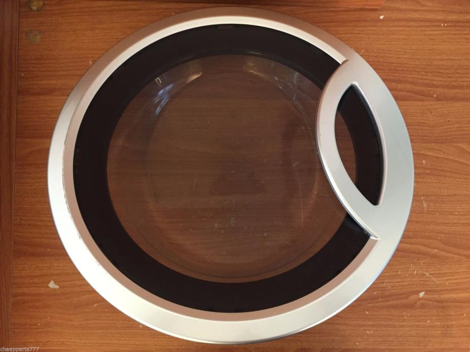 Genuine GE General Electric Washer Complete Door Assembly WH46X10127 WH46X10125