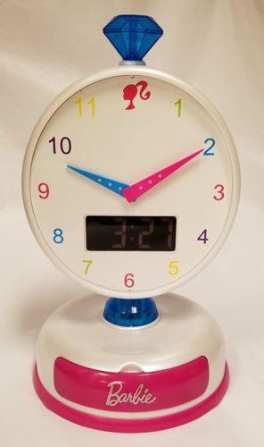 Barbie GEO POP Alarm Clock - Razzle Pink