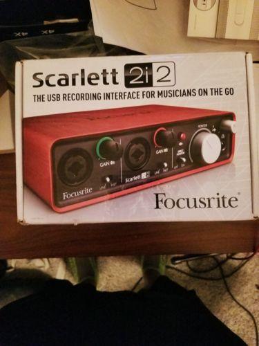 Focusrite 2i2 audio interface MAKE AN OFFER!