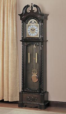 Coaster Grandfather Clock In Brown Finish 900721