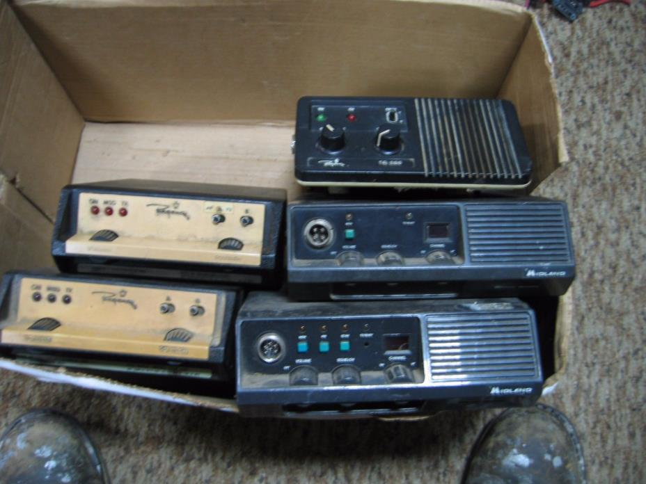 Vintage Old Two Way Truck Radio/CB