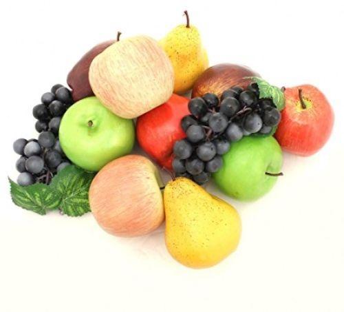 Decorative Realistic Artificial Fruits Decoration Assortment Table Display Decor