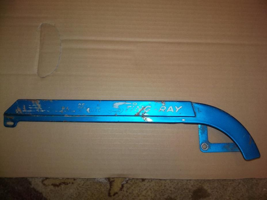 Schwinn Stingray Blue Deluxe Original Paint Screen Chainguard Chain Guard Bike