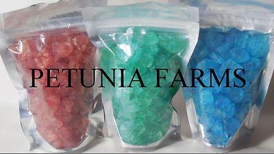 Scented Rainbow Salt Crystal Rocks *CLOTHESLINE* 16oz & REFILL FRAGRANCE OIL **