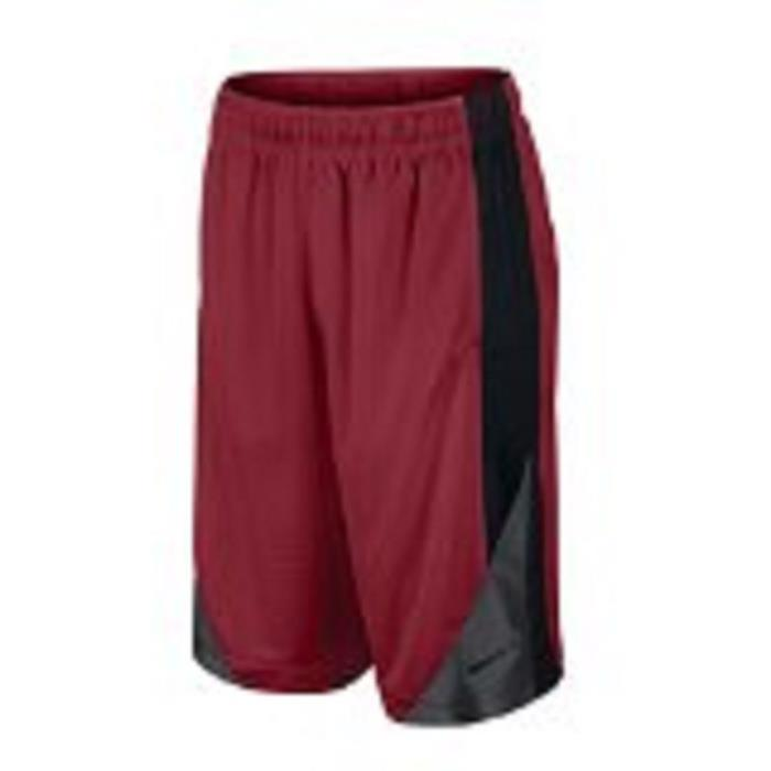 Nike Boy's Basketball Shorts Red with Black Size XL (32-35)