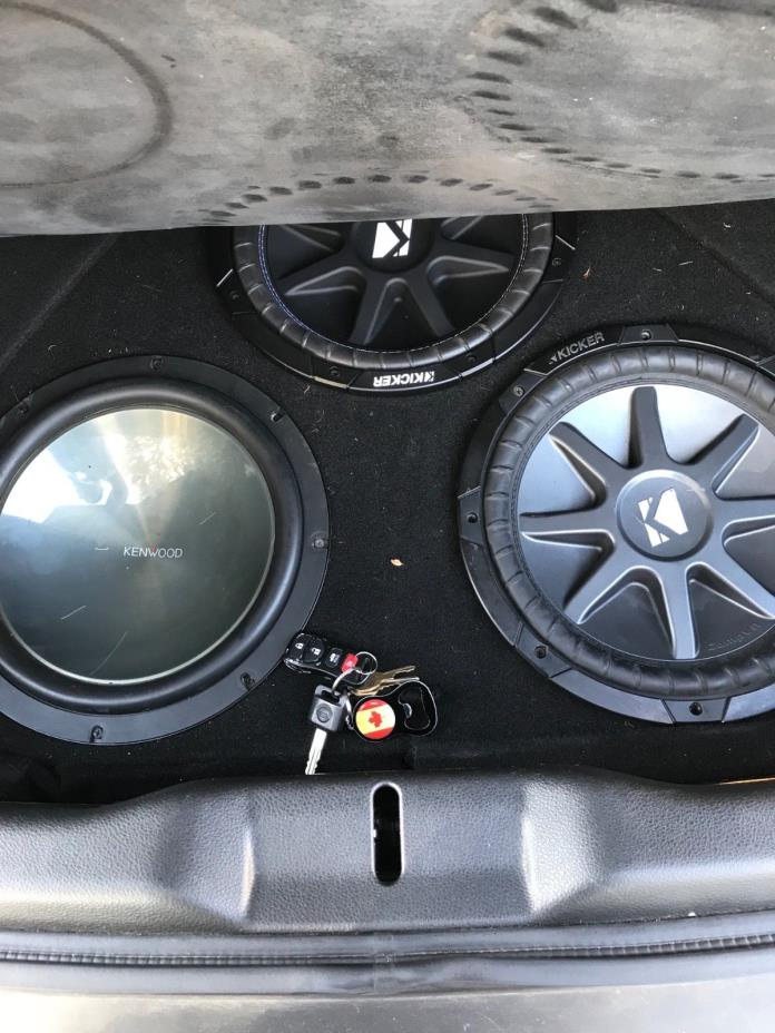 custom 350z subwoofer box