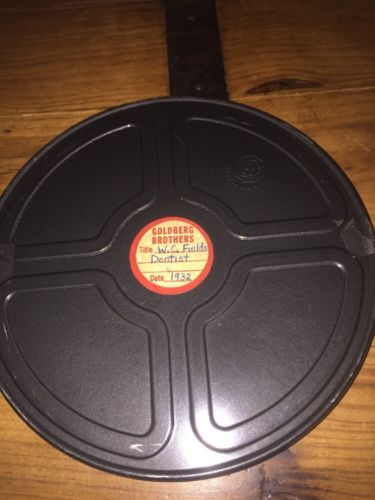 "W C FIELDS - THE DENTIST - Super 8 Movie 8mm Film 7"" Reel"