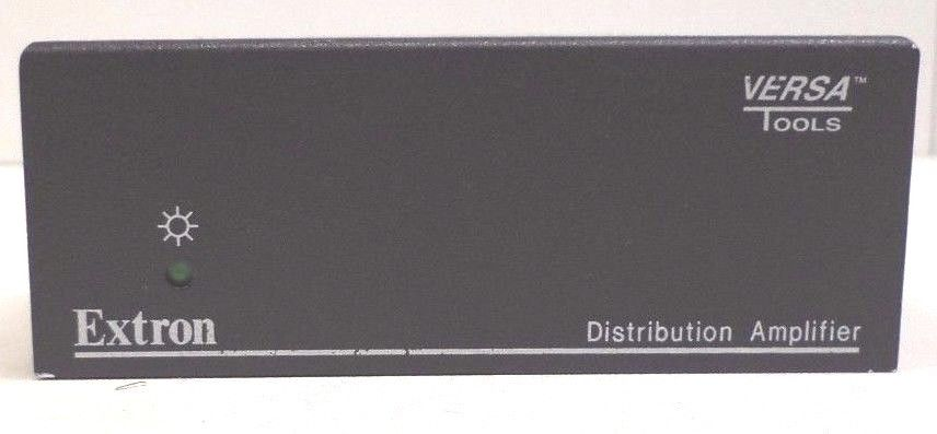 EXTRON - 3 Output Composite Video and Stereo Audio Distribution Amplifier MDA 3A