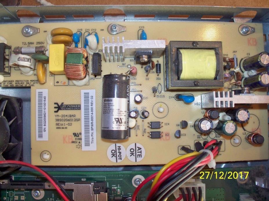 TiVo Premiere Power Supply -  Model YM-2041BAR