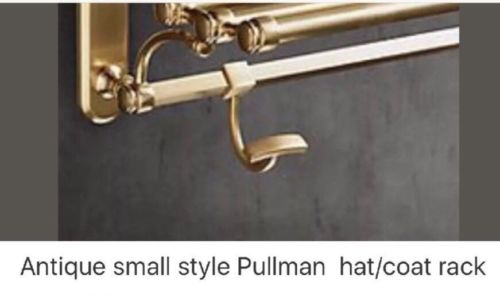 Antique small style Pullman  hat/coat rack