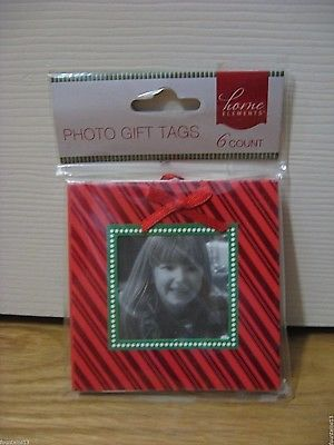 GIFT TAGS Christmas 6 count Add a photo Last One!