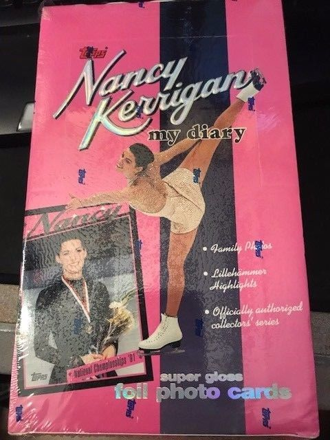 1994 Topps Nancy Kerrigan My Diary Trading Cards Factory Sealed Box 36 Packs
