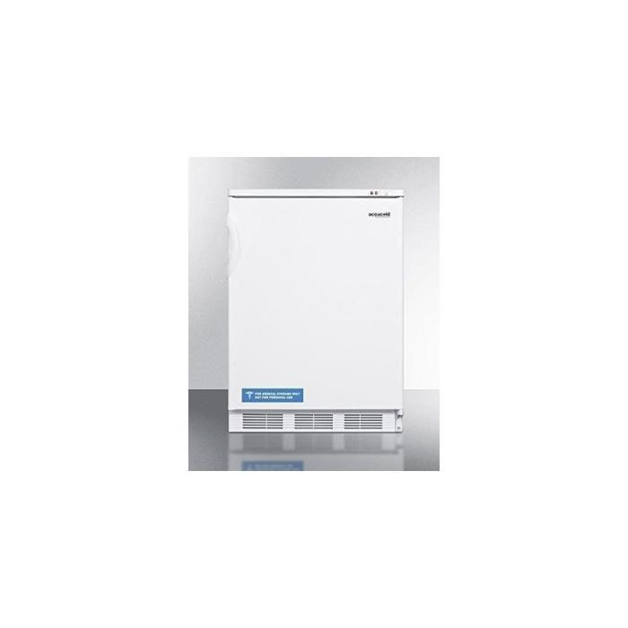 Summit VT65M7 Upright Freezer, White