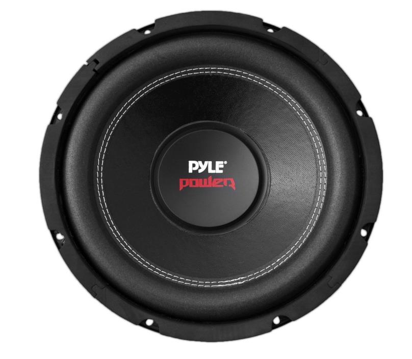 Pyle Powered Subwoofer Speakers 8 Inch 800 Watt Dual 4 OHM New Free Shipping