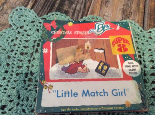 """8mm Home Movie Silent Edition """"LittleMatch Girl"""