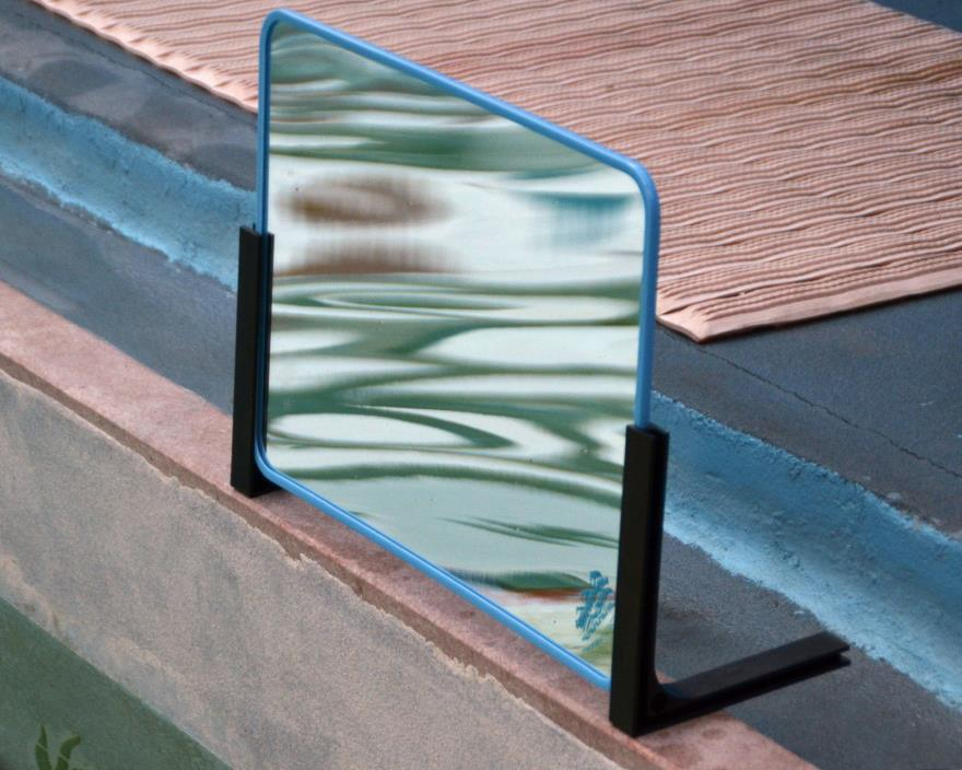 NWT PROFESSIONAL MIRROR STAND use w/ Deluxe Rectangle Mirror by Adventure Swim