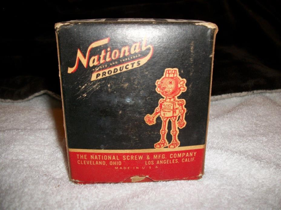 Vintage Hardware National Products Screw & MFG. Co. 1 3/4