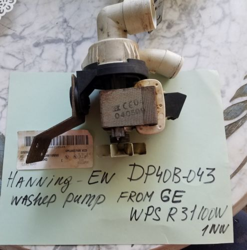 washing machine pump Hanning-EW DP40B-043