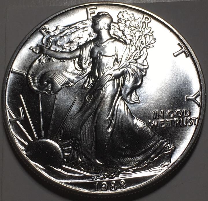 1988  $1 SILVER AMERICAN EAGLE