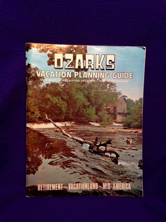 Ozarks Vacation Planning Guide, 1978