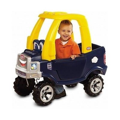Little Tikes Cozy Truck Car Trailer Pickup Coupe Toy Ride Kids Toddler Play Road