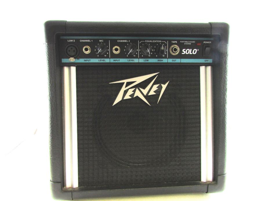 Peavey Solo Portable Battery Powered 8