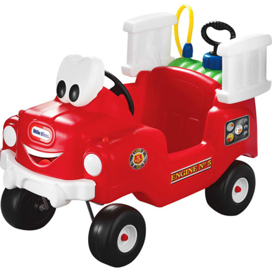 Little Tikes Spray and Rescue Fire Truck Riding Toy Kid