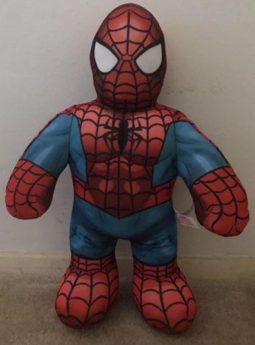 Marvel Superhero Squad Talking Spiderman Tuff Buddies Stuffed 16