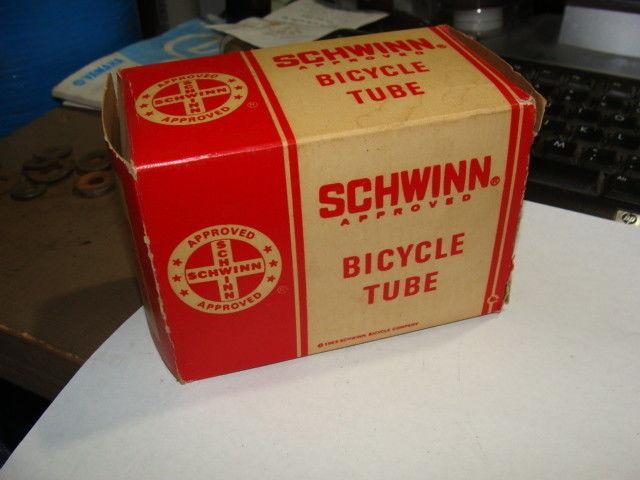Vintage NOS Schwinn Bicycle Tube Box No.62 450 27 X 1 1/4
