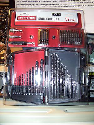 NEW Craftsman 57 pc. Drill/Drive Set