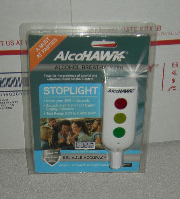 Alcohawk Alochol Breathalyzer - A MUST AT PARTIES!