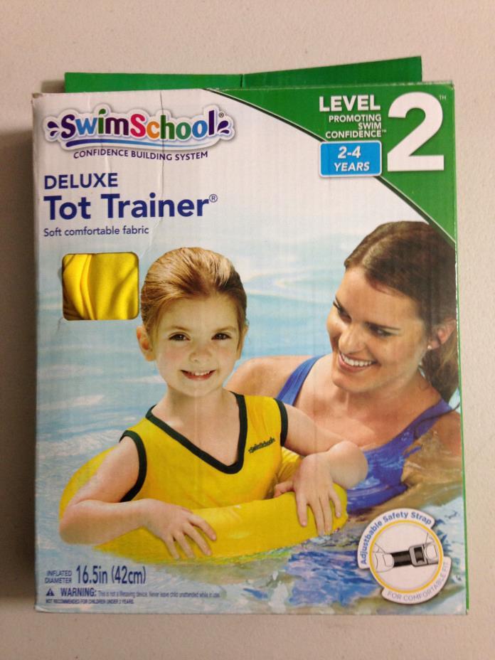 Swim School Level 2 Deluxe Tot Trainer Wearable Fabric Float