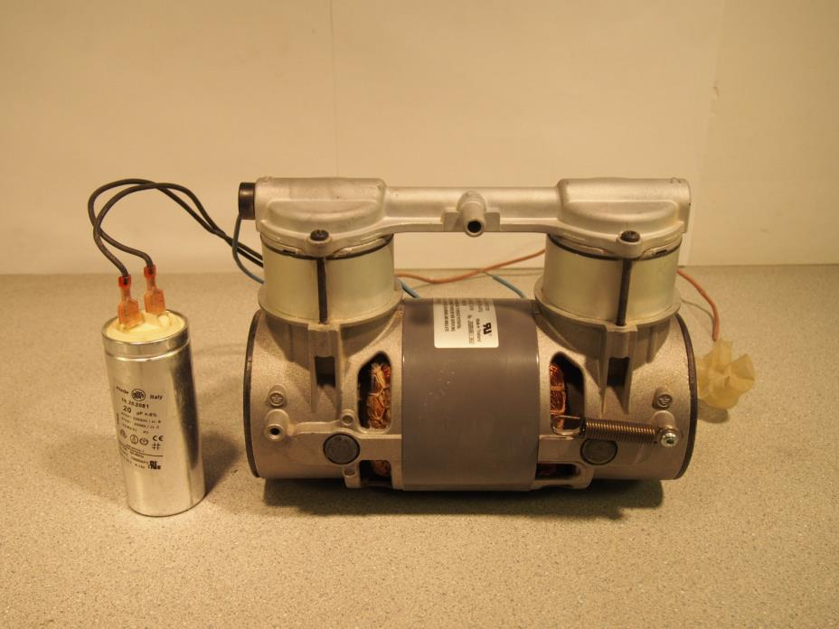 Thomas 2450AE44-979 Fasco KS67050 WOBL-Pison Air Compressor Pump 20-25 In Hg