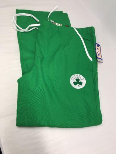 SCRUB Dudz Bottoms / Pants BOSTON CELTICS BASKETBALL SCRUBS PJ's NEW Size L