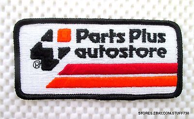 Parts Plus Auto Store Embroidered Sew On Patch Advertising Uniform 4 1/4