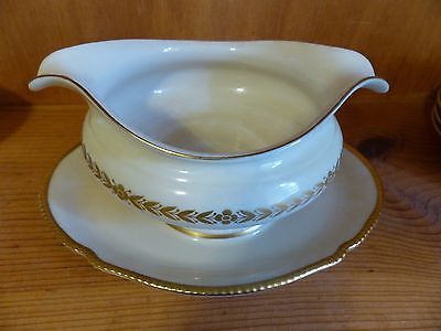 Castleton LAUREL Gravy Boat & Underplate