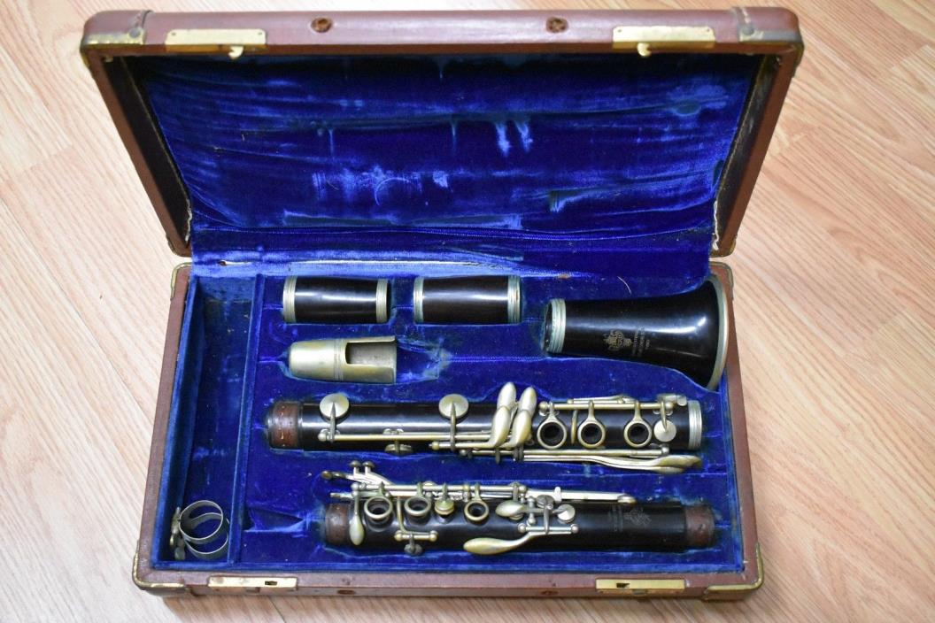 Monopole Vintage Wooden Clarinet