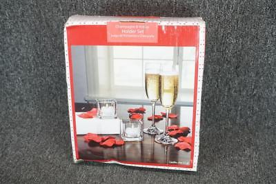 Champagne & Votive Holder Set
