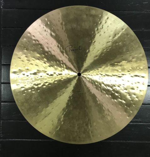 "Paiste Signature Traditional 20"" Light Flat Ride Cymbal NEW"