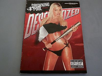 DROWNING POOL -  DESENSITIZED - GUITAR SONGBOOK w/hit