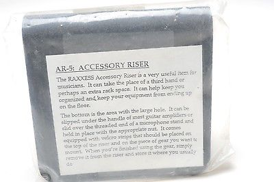 Raxxess AR-5 Accessory riser for amp handle or mic stand, New