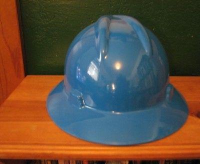 Blue Hard Hat (No suspension;Hard Hat ONLY)