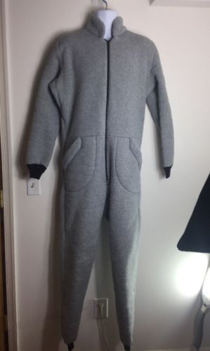 Dry / Dive Suit Liner Fleece Inner Made in the USA OS SYSTEMS L
