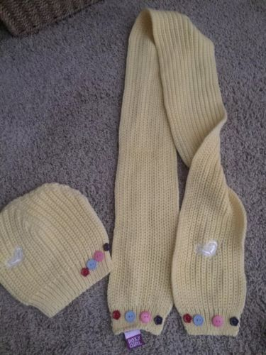 NWT ROXY Knitted Scarf & Hat/Beanie ~ Adorable!!!